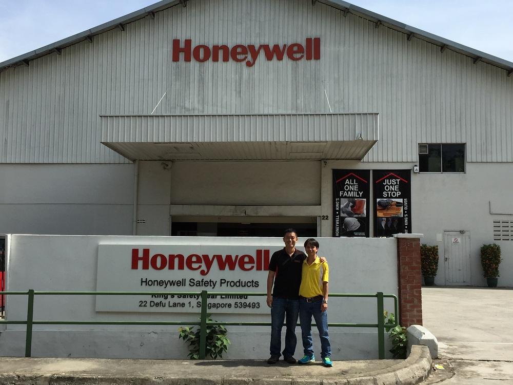 3TK thăm nhà máy HONEYWELL  và MSA tại SINGAPORE