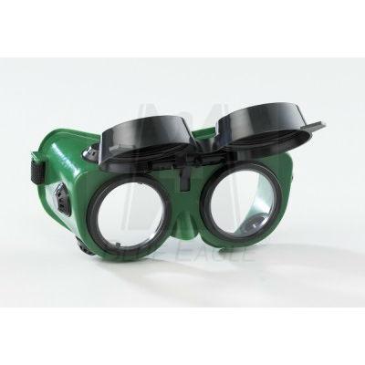 Kính hàn hai lớp mắt kính