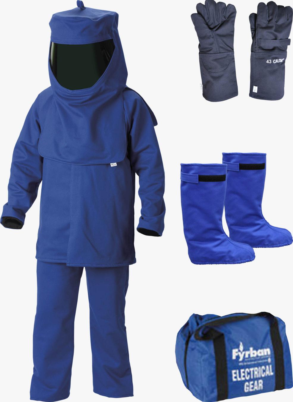 Bộ quần áo chống hồ quang điện AR43