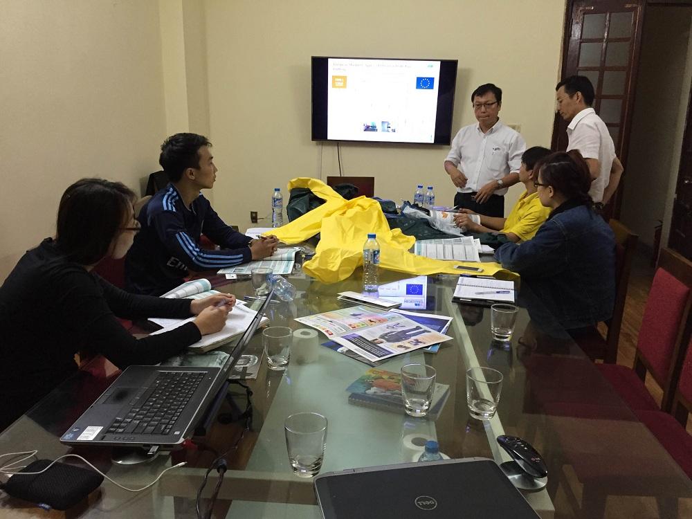 Tập huấn và đào tạo chuyên sâu về sản phẩm MICROGARD tại văn phòng 3TK